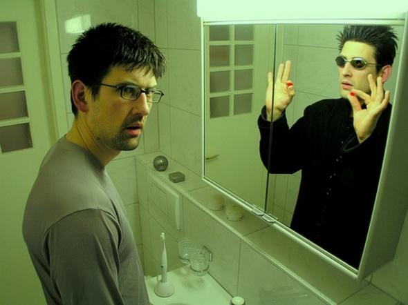 Инфобизнес с зеркальным отражением